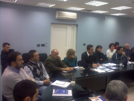 Presentation of the third Collection of Policy Papers on Police Reform in Serbia – Novi Pazar, 24 November 2010.jpg